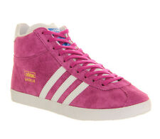 Adidas Gazelle Og Mid VIVID PINK WHITE EXCLUSIVE Trainers Shoes VH1