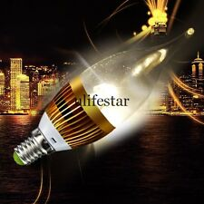 High Power E14 3W 85~265V LED Candle Light Bulb Lamp Warm White Energy Saving LM