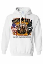 UNISEX PULLOVER HOODIE Pow Mia All Gave Some, Some Gave All USA MILITARY HEROES