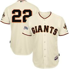 Jake Peavy SF Giants 2013 Authentic World Series Cool Base Cream Home Jersey
