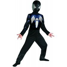 Venom Costume Kids Black Spider-Man Halloween Spiderman Fancy Dress