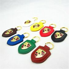 PORSCHE souvenirs leather PORSCHE 911 key chain