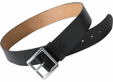 Edwards Garment Leather Casual Removable Nickel Buckle Garrison Belt. BC00