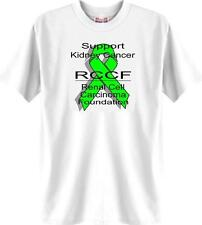 Support Kidney Cancer RCCF Renal Cell Carcinoma Foundation T-Shirt White 312