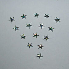 3mm clear ab nail art rhinestone star gems Christmas / card making/scrapbooking