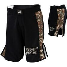 NEW UFC BLACK CAMO Fight Shorts MMA Grappling for no gi