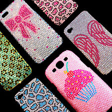 BLING PHONE CASE HARD BACK COVER SPARKLY GIRLS GIRLY GIFT LADIES PROTECTOR SHINY