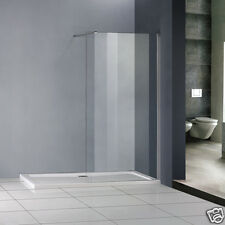 Luxury Shower Enclosure Wet Room Walk In Glass Screen Cubicle Panel Stone Tray W