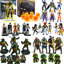 Teenage Mutant Ninja Turtles Dragon Ball Figurines Jouets Peppa Pig famille Doll
