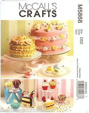 McCall's Pattern for Aprons, Pincushions, Magnets, Gift Box, Purse, Fabric Cakes