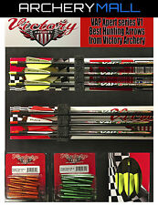 1 DZ VICTORY V1 Xpert series VAP 350 / 400 arrows with inserts. Reg. over $200.