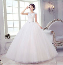 New Women's Wedding Dress Shoulders Strap Wedding Dress Bandage Bridal Gown