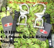 Horse Harness Trace to Carriage Quick Release Snap Shackles Two Sizes Available