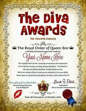 DIVA AWARDS This Is A Great Looking Award Certificate For Girls Of All Ages  PDF