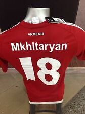 Henrikh Mkhitaryan ARMENIA NATIONAL TEAM FOOTBALL SOCCER JERSEY (X20943)