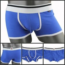 New Cotton+Modal XUBA Trunks Sexy Underwear Men's Boxer Briefs Shorts Dark Blue#