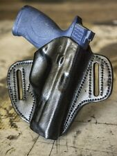 Glock 17, 20, 21, 22, 31, 37 | OUTBAGS Genuine Leather OWB Pancake Belt Holster