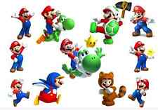 11 supper Mario matt gloss water transfer  Tattoo for boy and girl party