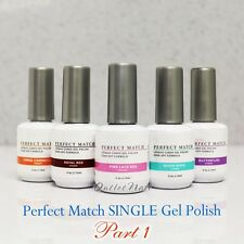 LeChat Perfect Match SINGLE Bottle Gel Polish PART 1 UV LED Soak Off 15 mL/0.5oz