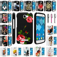 Alcatel One Touch Pop Icon 7040T Snap on Slim Image Design Rubber Case Cover