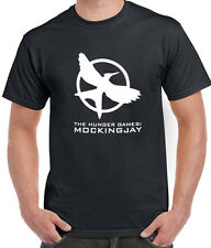 THE HUNGER GAMES MOCKINGJAY MOCKING JAY MOVIE LOGO TEE T-SHIRT TSHIRT MEN LADIES
