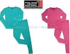NEW GIRLS Weatherproof 32 Degrees Heat Long Sleeve & Pant Base Layer Set VARIETY