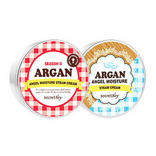 SECRET KEY New Argan Angel Moisture Steam Cream 2 Colors 80g / Korea cosmetic