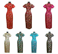 New Chinese Style embroider women's Dress/Cheong-sam sz:S M L XL XXL