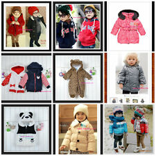 CLEARANCE Toddler Kids  Winter Snowsuit Jacket playsuit Size 0-7 Years Old.