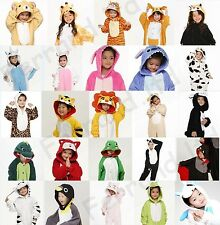 Kids Children Pajamas Cosplay Kigurumi Unisex Costume Cute Anime Onesies Pyjamas