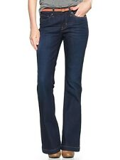 GAP 1969 WOMENS LONG & LEAN DARK BLUE WASH DENIM JEAN  HOL 13 SOLD OUT S/153581