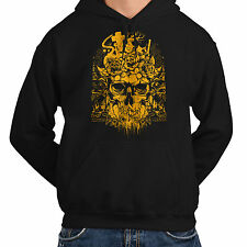 Wellcoda | NEW Sinful Ghost Horrible Skull Mens Womens S-5XL Hoodie *o366
