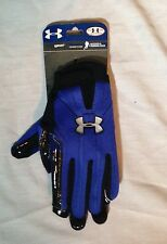 New Under Armour Cold Gear Possession Receiver & Running Back Gloves