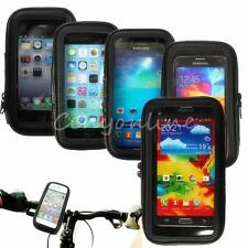 Waterproof Motorcycle Bicycle Handlebar Mount Holder Case Cover For Moblie GPS