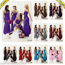 Bingbing satin Bridesmaids' Formal Dresses prom dresses  evening dresses from uk