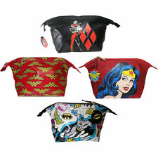 DC Comics: Ladies Wash/Make Up/Toiletries Bag - New Official DC Comics With Tag