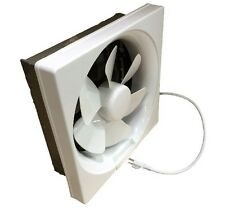 "Shutter Exhaust Fan 6"" 8"" 10"" 12"" Garage Shed Pole Barn Hydroponic Ventilation"