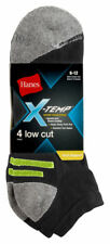 Hanes Men's X Temp Arch Athletic Support Low Cut Socks, 4-Pack. 514/4
