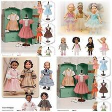 "Simplicity Sewing Pattern 18 inch Doll Clothes Dress & Outfits for 18"" Dolls New"