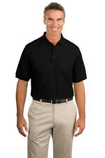 Port Authority Silk Touch Polo with Pocket. K500P Mens