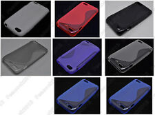 Multi Color S-Types TPU Silicone CASE Cover For HTC One V T320e