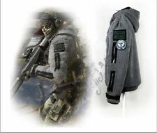 CALL OF DUTY MODERN WARFARE2 Task Force 141Ghost Zip up Jacket Hoody Costume Cos
