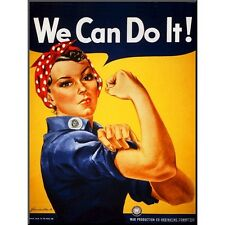 Art.com - We Can Do It! (Rosie Riveter)