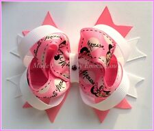 Baby/Girl Handmade 4 Inch DISNEY MINNIE MOUSE Looped Party Hair Bow Clip boble