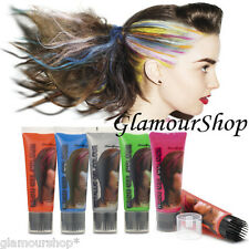 Stargazer Metallic or Neon Hair Gel Temporary Colour Dye Wash out instantly