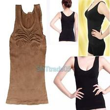 Slimming Bust up Body shaper Tummy Fat Control Camisole Tank Top 2 Colors B#S5