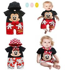 2014 Hot Sale - The latest hot cute mickey baby conjoined with short sleeves