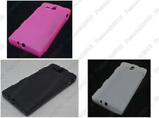 Multi Color Matting TPU Silicone CASE Cover For Sony Xperia U ST25i