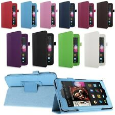 """For 2014 Amazon Kindle Fire HD 6""""/HD 7"""" Tablet Folio PU Leather Case Stand Cover"""