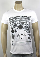 Muhammad Ali T-Shirt White Boxing Heavyweight Champion Press Conference retro